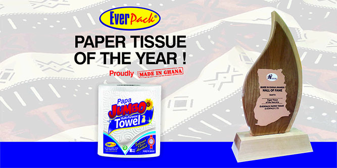 EVERPACK PAPER TISSUE OF THE YEAR